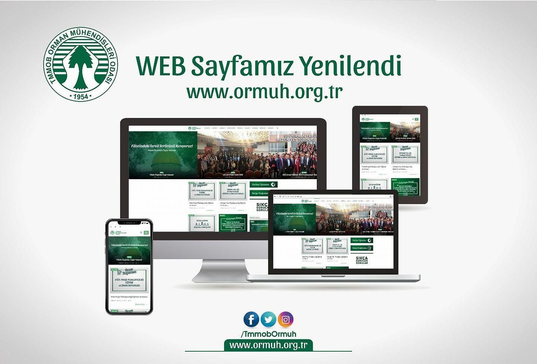 Orman Mühendisleri Odası Web Sayfası